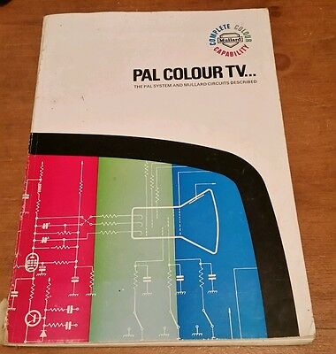 Mullard Pal System For  Vintage Colour Tv From 1967
