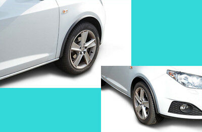 Fender Flares Wheel Eyebrow Sticker Rubber Trims Arch Extensions 20 mm Universal