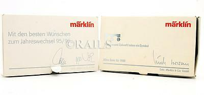 Marklin 'z' Gauge Pair Of Assorted Special Edition Wagons (2P)