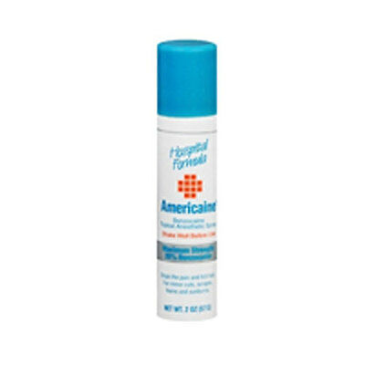 Americaine Benzocaine Topical Anesthetic First Aid Spra