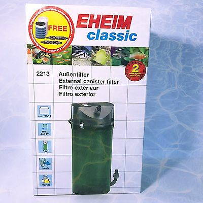 EHEIM Classic 250 External Filter Low Energy Robust Reliable Made To Last