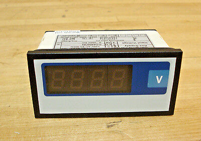 4-Digit DC Digital Panel Meter with Red LED