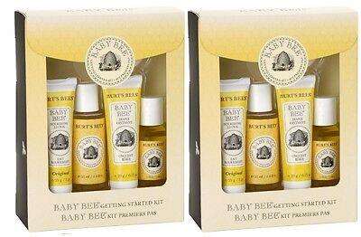 2 x Burt's Bees Baby Bee Getting Started Gift Set (Double Pack)