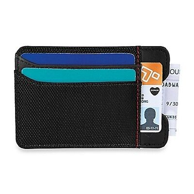 NEW Travelon® Safe ID Accent Money Clip Wallet in Black FREE SHIPPING