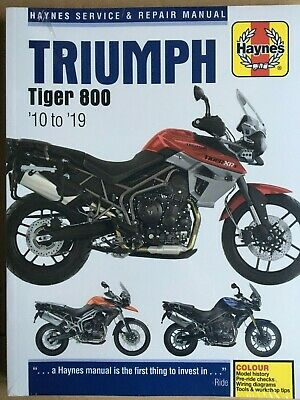 Haynes Manual Triumph Tiger 800 2010 - 2014 Haynes Manual 5752
