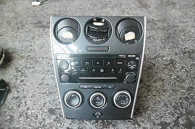 Mazda 6 2006 Cd Player With Heater Controls