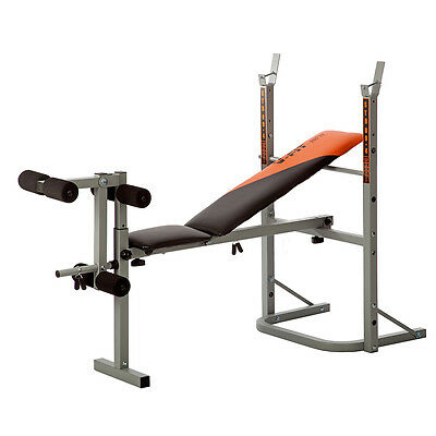 Herculean STB/09-1 Folding Weight Training Bench Gym Muscle Building Fitness