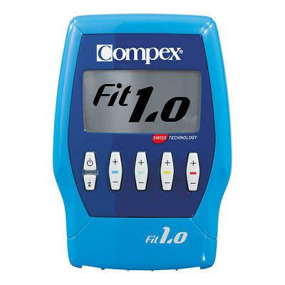 Compex Fit 1.0 Muscle Stimulator- Stimulates Blood Flow, Training, Exercise, Gym