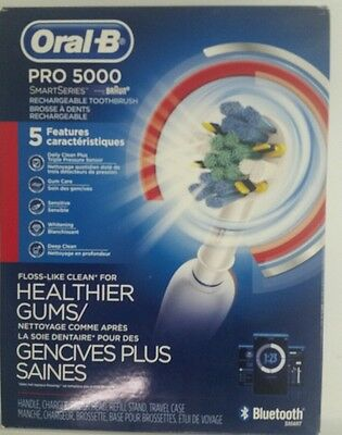 Oral-B Pro 5000 SmartSeries with Bluetooth Electric Toothbrush *W/ New Head*