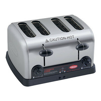 Hatco TPT-240 Four Slot Pop-Up Toaster with Removable Crumb Tray- 240 Volts
