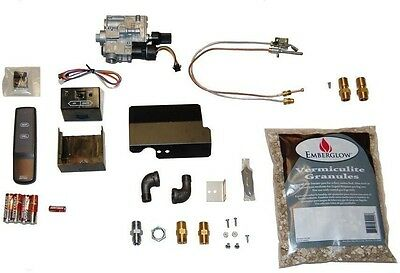 NEW Remote Controlled Safety Pilot Kit for Vented Gas Logs Fireplace