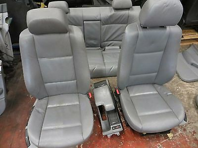 BMW E46 saloon Interior Series Leather Door Cards