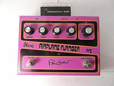 Ibanez Af2 Paul Gilbert Airplane Flanger Effects Pedal Jet Free Usa Shipping