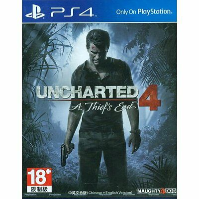 Uncharted 4 A Thief's End PS4 GAME Chinese Ver.  *BRAND NEW!* + Warranty!!