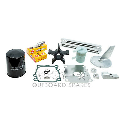 Suzuki Annual Service Kit with Anodes for 90, 100, 115hp 4 Stroke Outboard