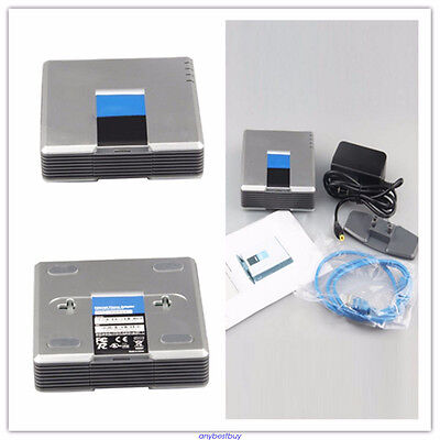 Unlocked Linksys PAP2T-NA VoIP SIP Adapter ATA PAP2T