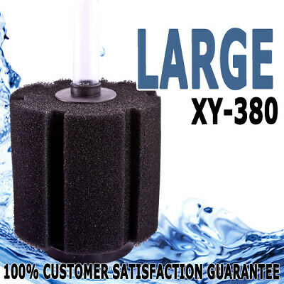 XY-380 Aquarium Internal Sponge Bio Filter Jumbo HI-FLOW Fish Pond Tank 360L