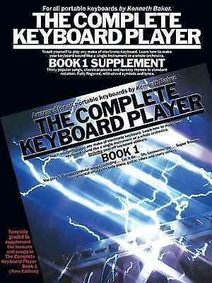Complete Keyboard Player - BOOK 1 SUPPLEMENT - Easy To Play Sheet Music Book