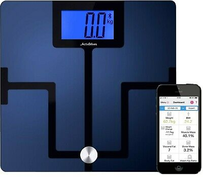Smart Scales Body Fat Analyser Health Monitor Bluetooth 4.0 by Activ8rlives