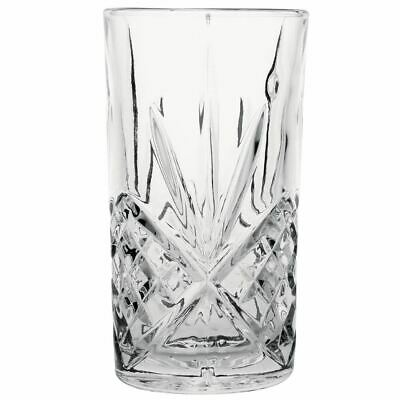 Olympia Old Duke Glass Tumbler in Clear Made of Glass 350ml / 12oz