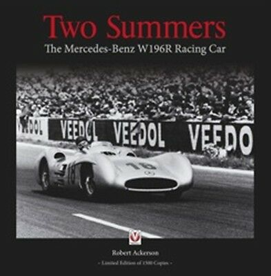 Two Summers – The Mercedes-Benz W196R Racing Car book paper car