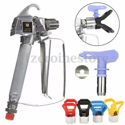 High Pressure 3600PSI Airless Paint Gun Sprayer+517 Tip & Guard For Titan Wagner