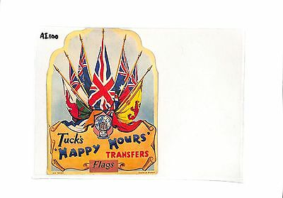 AI100 GB Tucks Happy Hours Transfer Flags Cover with Contents