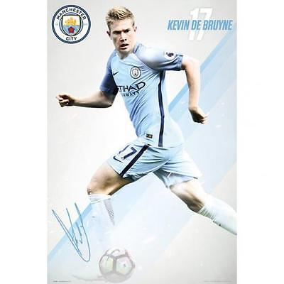 Official Licensed Football Product Manchester City Poster Kevin De Bruyne Gift