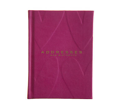 Leatherette Address Book