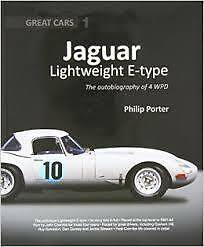Jaguar Lightweight E-type the autobiography of 4 WPD by Philip Porter book paper