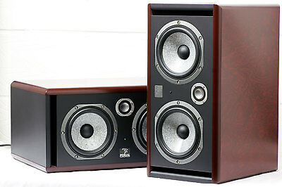 Focal Twin 6BE active studio monitor in red (pair)