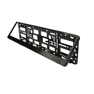Black ABS Number Plate Surrounds Holder Frame for all cars OFFER ENDS