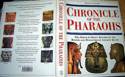Egyptian Cronicles of the Pharaohs book ,