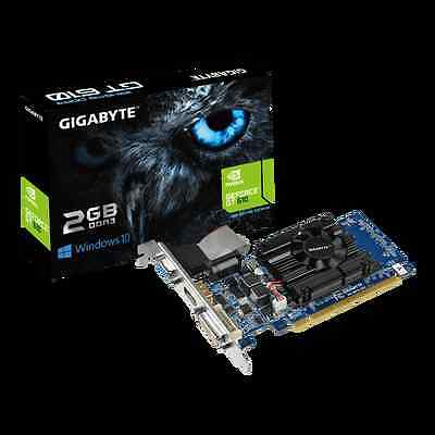 Low Profile Gigabyte GeForce GT 610 2GB DDR3 PCI-E Graphics Cards (GV-N610-2GI)