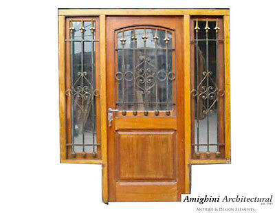 Single Entry Door w/ Sidelights #A0053