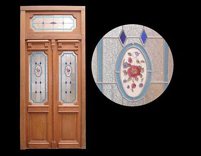Stained Glass Door 1910's #A1858