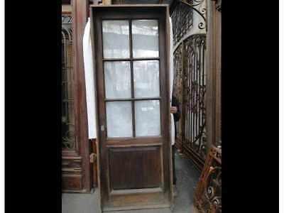 Antique Single Patio Door #1612