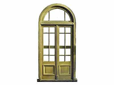 Double French Door w/ Arched Transom #D1194
