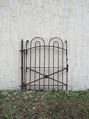 Antique Hair Pin Iron Gate Fence Post Garden Architechural Salvage # X