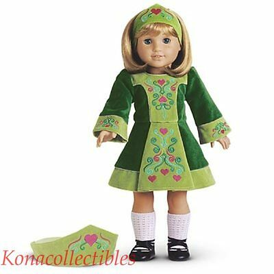 American Girl Nellie Irish Dance Outfit New! Early Ed LAST ONE!