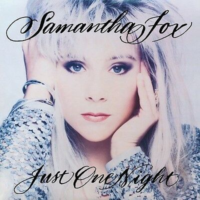 Just One Night: Deluxe Edition - 2 DISC SET - Samantha Fox (2012, CD NEUF)