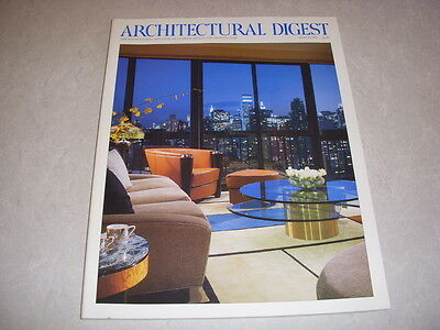 ARCHITECTURAL DIGEST Magazine, March, 1996, ARIZONA BILTMORE, FRANK LLOYD WRIGHT