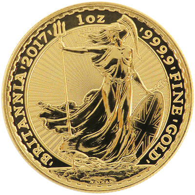 2017 U.K. 100 Pound 1 oz Gold Britannia Brilliant Uncirculated