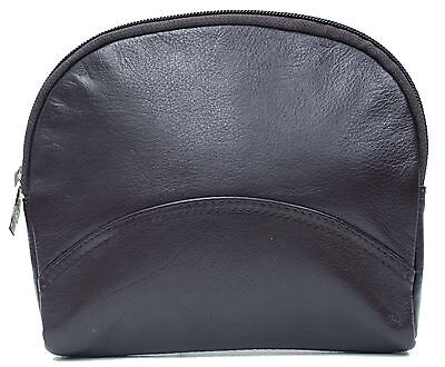 Ashlin® Large Cosmetic and Jewellery bag Tuscany Leather[T7529-18-01]MSR $ 40.95