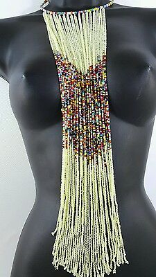 Authentic Maasai handmade beaded Necklace very beautiful