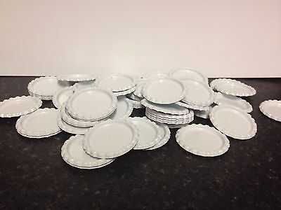 Pack of 100 Flat White Bottle Caps Craft and 100 Epoxy Clear Resin Domes #41
