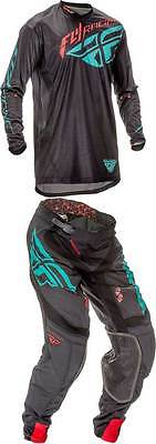 Fly Racing Lite Hydrogen Combo Motocross Dirtbike MX ATV Riding Gear Jersey Pant