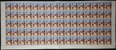 Royal Caledonian Schools Cinderella Stamps Full Sheet of 80 MNH