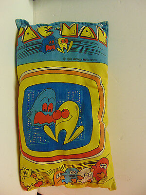 Vintage - Pac-Man Pillow [1982] (Midway Mfg. Co)