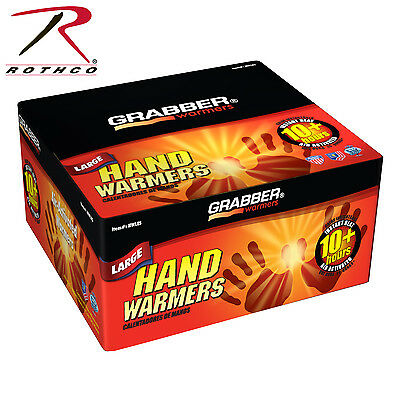 4924 Grabber Large Hand Warmers - 5 Packages - Each Package Contains 2 Warmers